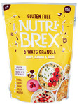 Nutri-brex Honey Almonds & Seeds Granola 400g (gf)