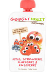 Googly Fruit Pouch Apple Strawberry Blueberry & Raspberry 100g
