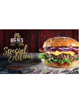 Big Al's Special Edition Quarter Pounders Beef & Bacon 227g