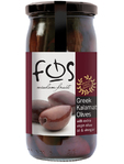 Fos Greek Kalamata Olives 360g