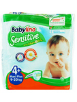 Babylino 4+ Maxi Plus Sensitive With Chamomile 9-20kg X19