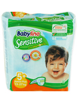Babylino Junior 5+ Sensitive With Chamomile 13-27kg X16