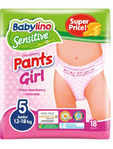 Baby Lino Pull Up Pants Girls 5 Junior X18