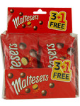 Maltesers 4 X 37g Offer 3+1 Free