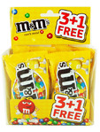 M&m's Peanut 4x45g Offer 3+1 Free