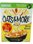 Nestle Oats & More Nutty Almond 425g Offer 75c Off