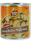 Happy Chef Whole Button Mushrooms 212ml