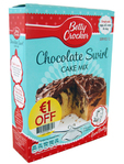 Betty Crocker Chocolate Swirl Cake Mix 425g (eur1.00 Off)