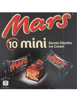 Mars Mini Ice Cream Bars X10