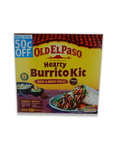 Old El Paso Hearty Burrito Kit 620g ( 50c Off)