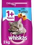 Whiskas Adult Dry Tuna 2kg ( Free Dreamies )