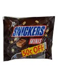 Snickers Minis X12 227g 50c Off