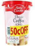 Betty Crocker Coffee Icing 400g (50c Off)