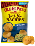 Old El Paso Tortilla Nachips Original 185g 30c Off
