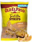 Old El Paso Crunchy Tortilla Chips Cheese 185g 30c Off