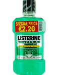 Listerine Teeth & Gum Defence Mouthwash 250ml