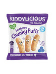 Kiddylicious Blueberry Chunky Puffs 12g €0.79c