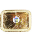 Ipak Gold Trays Rectangle X2