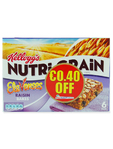 Kellogg's Nutri-grain Elevenses Raisin X6 Offer 30c Off
