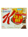 Kelloggs Special K Milk Chocolate Bars