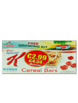 Kellogg's Special K Red Berry Cereal Bars X2 (eur2.99)