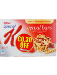 Kelloggs Special K Cereal Bars X5