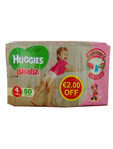 Huggies Bimba 4 7-18k X50 (eur2.00 Off)