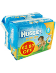 Huggies Super Dry X23 (euro2.00 Off)