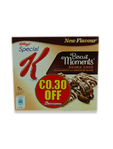 Kellogg's Biscuit Moments Double Choc 30c Off