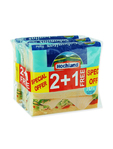 Hochland Cheese Slices Light 3x150g Offer 2+1 Free