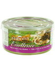 Princess Premium Excellence Chicken & Tuna With Rice & White Bait Tin 70gr