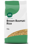 Good Earth Brown Basmati Rice 750g
