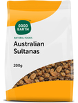 Good Earth Austailian Sultanas 200g