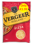 Vergeer Pizza Cheese 150g €1.99