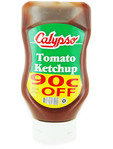 Calypso Tomato Ketchup Squeezy 450ml (90c Off)