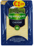 Kerrygold Cheddar Cheese Slices 150g Offer €1 Off
