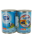 Frisian Flag Evaporated Milk Light 2x410g + Lock