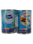 Frisian Flag Evaporated Full Cream Milk 2x40g + Lock