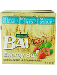 Ba! Quinoa & Strawberry Energy Bars 6x30g 1+1 Free