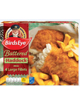 Findus Battered Haddock Fillets X4 480g