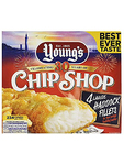 Young's Haddock Fillets Battered X4 €1 Off