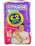 Canbebe Nappies Mini X40 (eur2.00 Off)