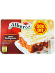 Alberto Lasagne Bolognese 400g Offer 50c Off