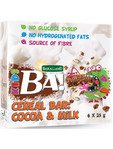 Ba Cereal Bar Cocoa & Milk 6 X 25g