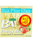 Ba! Quinoa Seeds & Strawberry X6 4+2 Bars Free