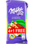 Milka Hazelnut 5x35g Offer 4+1 Free