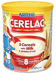 Nestle Cerelac 3 Cereals With Milk 400g