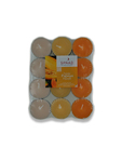 Spaas Papaya Scented Tea Lights Candles X24