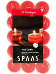 Spaas Rose Garden T/light Candles X30