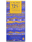 Cachet 72% Dark Organic Chocolate 100g